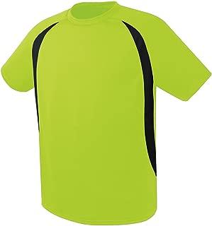 High Five Liberty Soccer Jersey XL Lime/Black