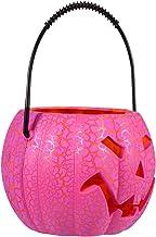 Gadpiparty Halloween Pompoen Lantaarn Spooky Halloween Opknoping Led Lamp Jack- O- Lantern Licht Indoor Outdoor Home Decor