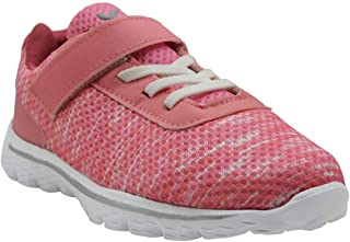 KazarMax Kid's Marble-Peach Sports Shoes for Boys/Girls (Made in India) 2.5 Years To 9 Years