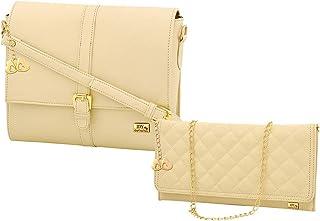 I DEFINE YOU Women's Combo of Handbag and Sling bag