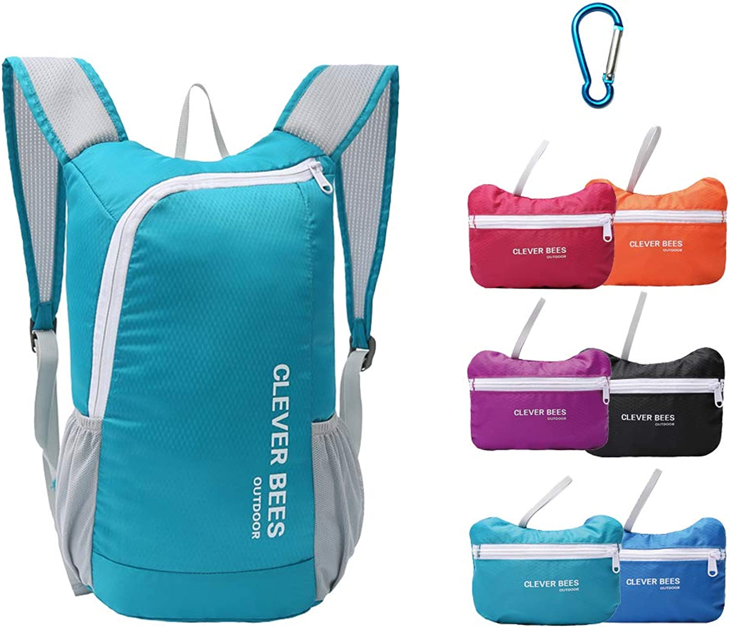 20L Ultra Lightweight Foldable Backpack Folding Backpack Outdoor Waterproof Backpack Hiking Daypack for Travel Champing Hiking School Sports