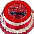 Cannellio Cakes Kuchendekoration Spiderman mit rot