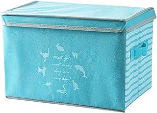 Boîte de Rangement vêtement saisonnier sous lit Boîtes De Rangement Avec Couvercles De Rangement Pliable Organisateur Boît...