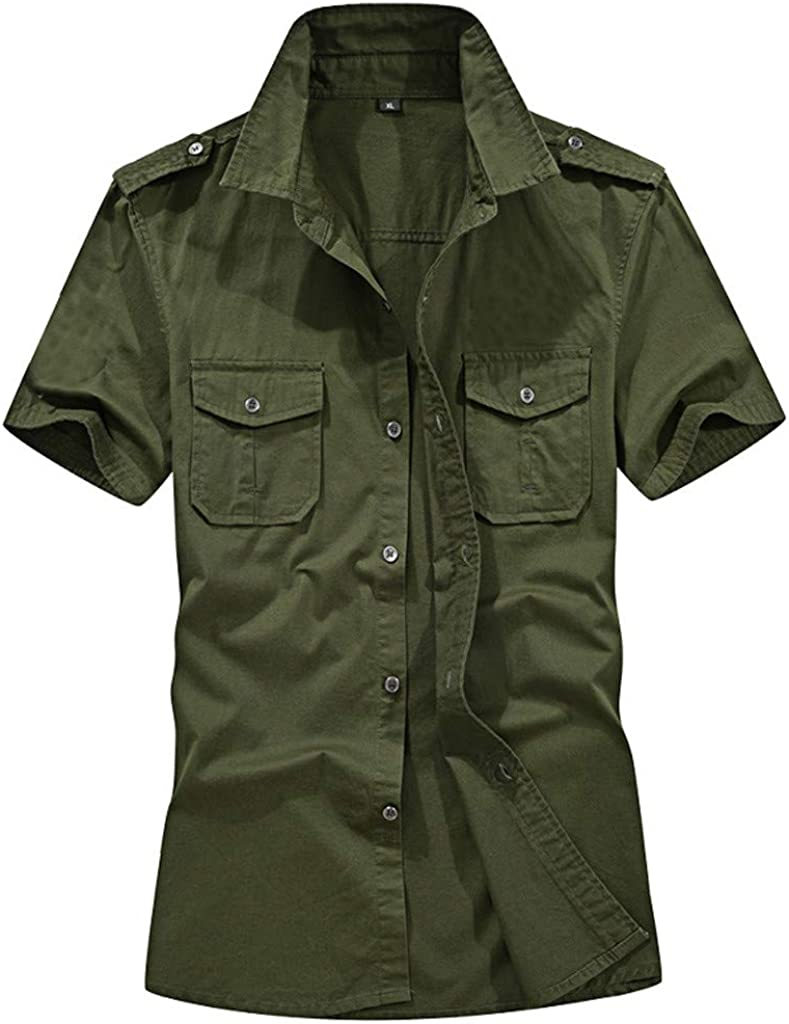 Shirt for Men F_Gotal Large-scale sale Men's Sleeve Max 40% OFF T-Shirts Short Summer Fashio