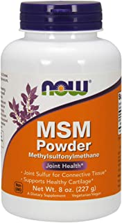 NOW Supplements, MSM (Methylsulfonylmethane) Powder, Supports Healthy Cartilage*, Joint..