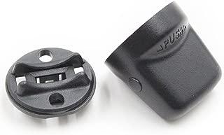 Koauto Keyless Ignition Start Switch Knob Cap & Insert Fit Outlander Lancer4408A167-4408A031