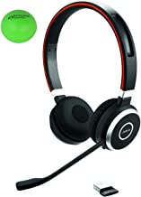 $99 » Jabra Evolve 65 UC Dual Speaker Bluetooth Headset Bundle with  Headsets Stress Ball (Renewed)