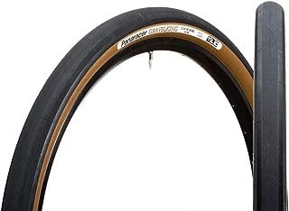 Panaracer Gravel King Slick Tire,Black Tread/Brown Sidewall, 700x35