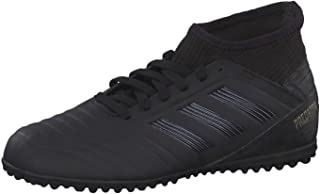 adidas Boy's Predator 19.3 Tf J Cblack/Goldmt Shoes-5 Kids UK (38 EU) (G25801)