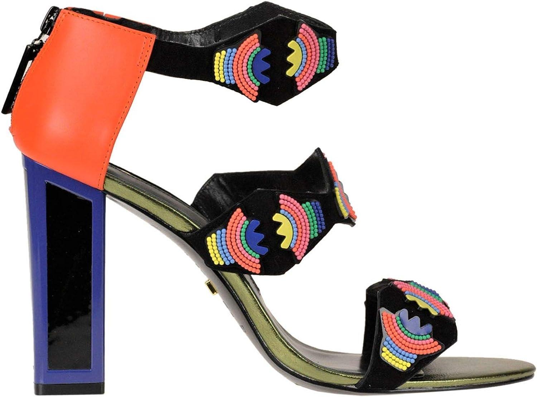 KAT MACONIE Women's MCGLCAT000005130E Red Suede Heels
