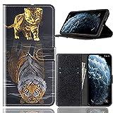 Sinyunron Handy Schutzhülle Kompatibel mit DOOGEE BL12000 Hülle Handy Tasche Hülle Handyhülle Lederhülle mit Kartenfächer,Ständer,Magnetverschluss,Hülle01C