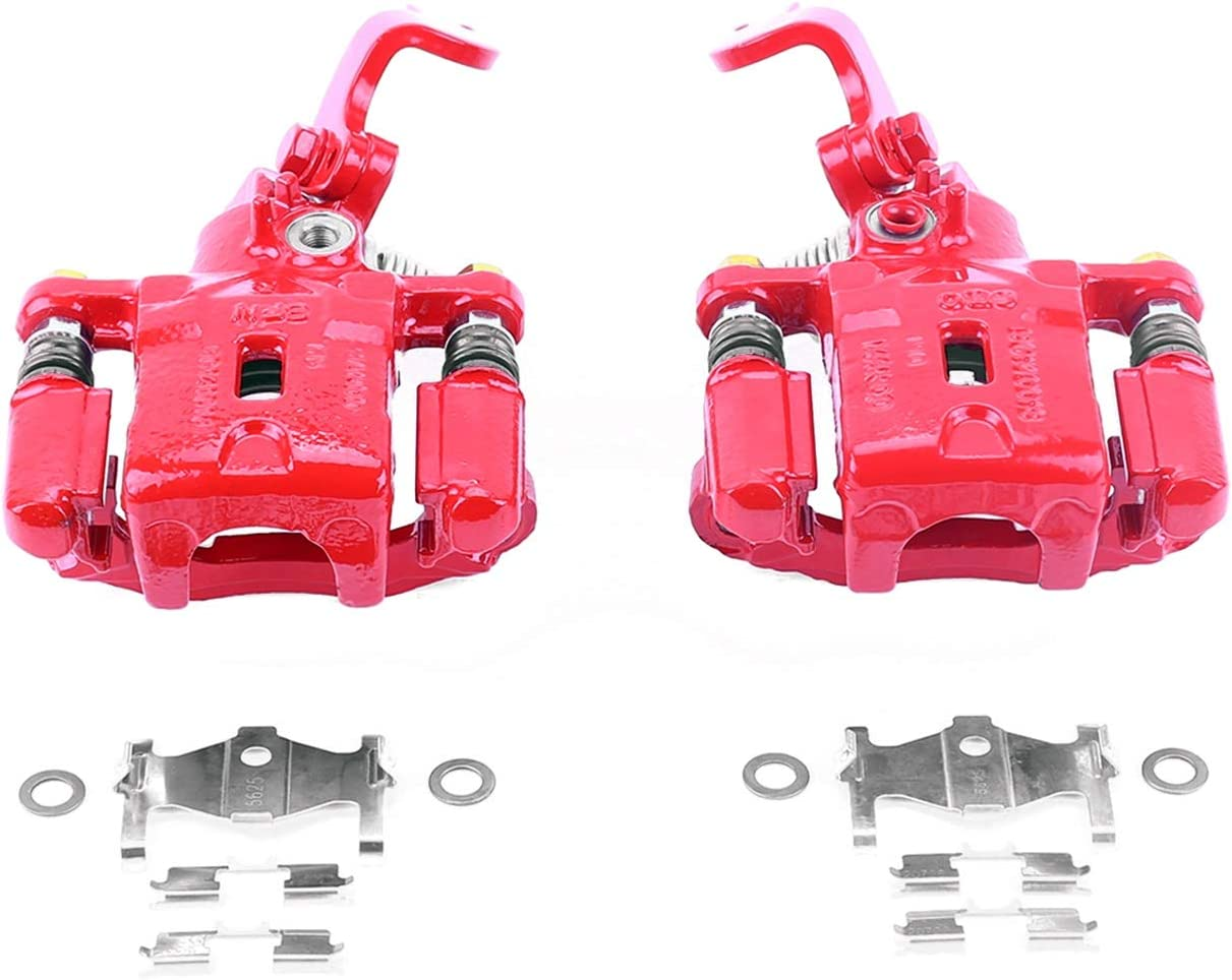 Power Stop S3302 New product Performance Rear Brake Powder ! Super beauty product restock quality top! Caliper Coated Pa