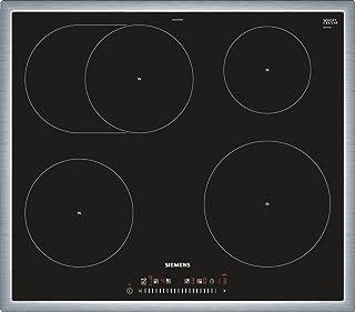 Siemens eh645ffb1e iq300Plaque Électrique/Céramique/Verre Céramique/58,3cm/minuterie avec fonction arrêt/Noir