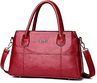 Women Bags,Big 2018 Women Leather Splice Handbag Shoulder Bag Crossbody Bag Tote Bag