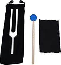 432 Hz Tuning Fork, with Silicone Hammer Bag Cleaning Cloth for DNA Repair Healing, Sound therapy, Perfect Healing, Musical Instrument, Balancing, Healers, Vibration, Sound therapist