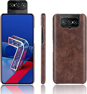 Allcecase Cover fit for Forfor Asus Zenfone 7 ZS670KS/ 7 Pro ZS671KS Shockproof Litchi Texture PC + PU Case