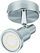 LEDVANCE Spotverlichting LED lamp: voor plafond/muur, GU10, LED SPOT / 3 W, 220…240 V, stralingshoek: 120, Warm wit, 2700 ...