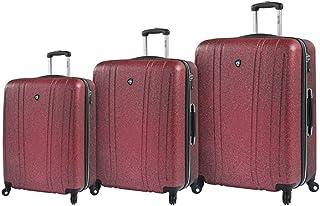 مجموعة حقائب السفر الدوارة أناتا ذات الجانب الصلب من ميا تورو ايتالي 3 قطع، لون ذهبي