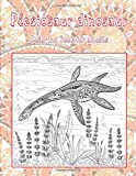 Plesiosaur dinosaur - Coloring Book for adults