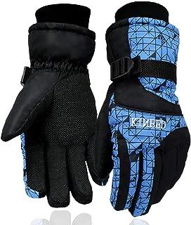 SPOTBRACE Ski Gloves Waterproof Breathable Snowboard Gloves Warm Snow Gloves for Men Skiing Snowboarding Winter Outdoor Sports Gloves