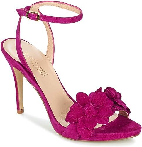 fericelli fericelli fericelli Glam Sandalen Sandaletten Damen lilat Sandalen Sandaletten  hochwertige Ware und bequemer, ehrlicher Service