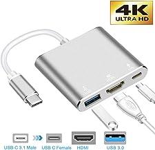 neefeaer Adaptador USB C a HDMI, Hub Tipo C USB 3.1 a HDMI