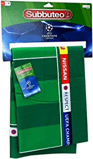Subbuteo 81472 UEFA Champions League Premium Pitch, Green, Ninguna