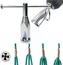 Herramientas de Torsión de Cables (3 Vías + 5 Vías) Pelacables Automático Conector Universal de 2.5 a 4 Puntas Cuadradas para Taladro Eléctrico (Multicolor A)