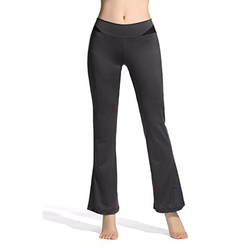 f7786b4c585 Lotus Instyle Stretchy Ankle Length Flare Bell Bottom Yoga Pants Leggings  for Women
