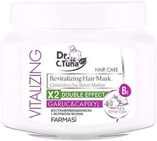 Farmasi Vitalizing Revitalizing Hair Mask/Garlic&Capixyl, 500 ml./16.90 fl.oz.