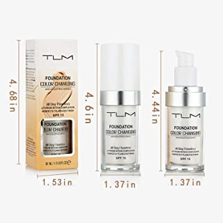 TLM Concealer Cover 30ML, Flawless Colour Changing