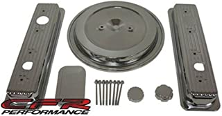 1993-94 Chevy/GMC 5.0L & 5.7L Truck Chrome Steel Engine Dress Up Kit - Smooth