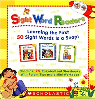 Sight Word Readers Parent Pack: Learning the First 50 Sight Words is a Snap!  25 Easy-to-Read Storybooks With Parent Tips ...