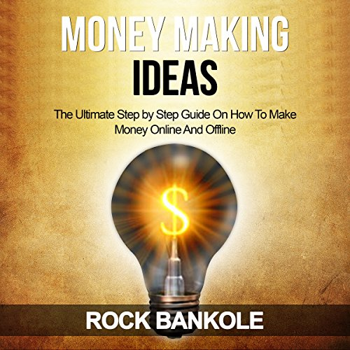 Money Making Ideas audiobook cover art