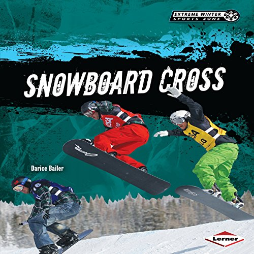 Snowboard Cross audiobook cover art