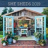 She Sheds 2019: 16-Month Calendar - September 2018 through December 2019 (Calendars 2019)