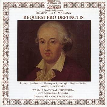 Cimarosa: Requiem pro defunctis
