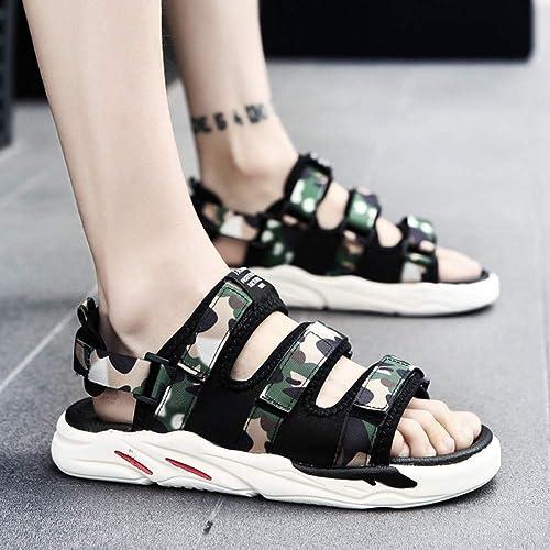 GJLIANGXIE GJLIANGXIE Sandales pour Hommes Sandales Et Pantoufles à La Mode pour Hommes, Chaussures De Plage Tendance pour Hommes  articles de nouveauté