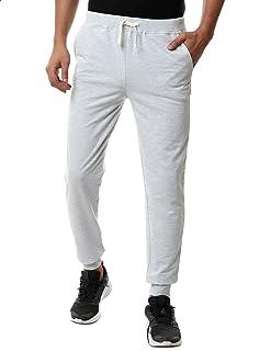 Off Cliff Side Pocket Elastic Cuff Drawstring Cotton Sweatpants for Men