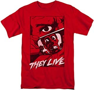 They Live Horror Movie Graphic Poster Licensed Adult T-Shirt All Sizes
