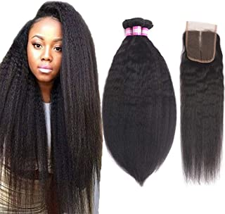 Best cheap kinky straight closure Reviews