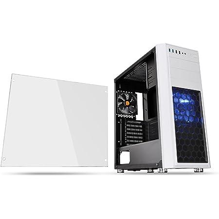 Thermaltake Versa H26 White /w casefan ミドルタワー型PCケース [ホワイトモデル] CS7071 CA-1J5-00M6WN-01