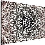 murando Cuadro en Lienzo Mandala 120x80 cm 1 Parte Impresión en Material Tejido no...