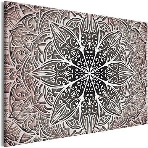 Murando Cuadro Lienzo Mandala 120x80 cm 1 Parte Impresión