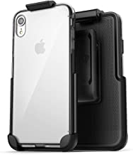 Encased (Thin Fit) Clear Armor Belt Case w/Holster Clip - Compatible w/Apple iPhone XR 6.1