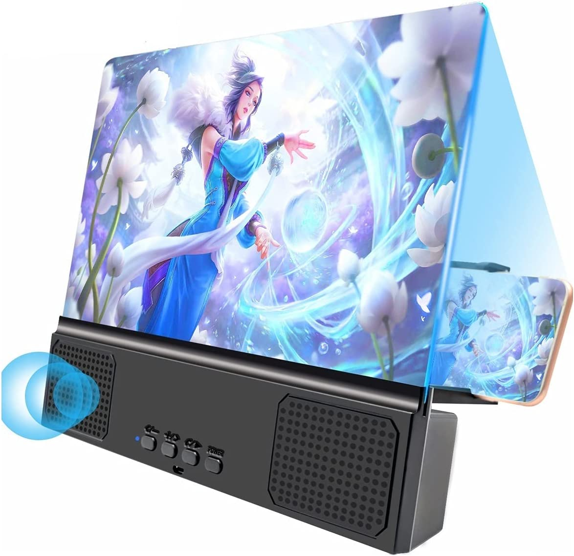 Cheap mail Super Special SALE held order sales LZZSAI 14-inch Mobile Phone Screen Blu-ray HD Ultra Amplifier Ma