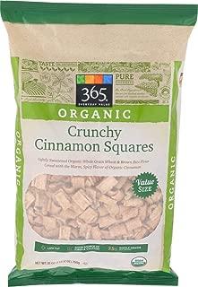 365 Everyday Value, Organic Crunchy Cinnamon Squares, 28 oz