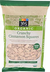365 Everyday Value, Organic Crunchy Cinnamon Squares, 28 oz