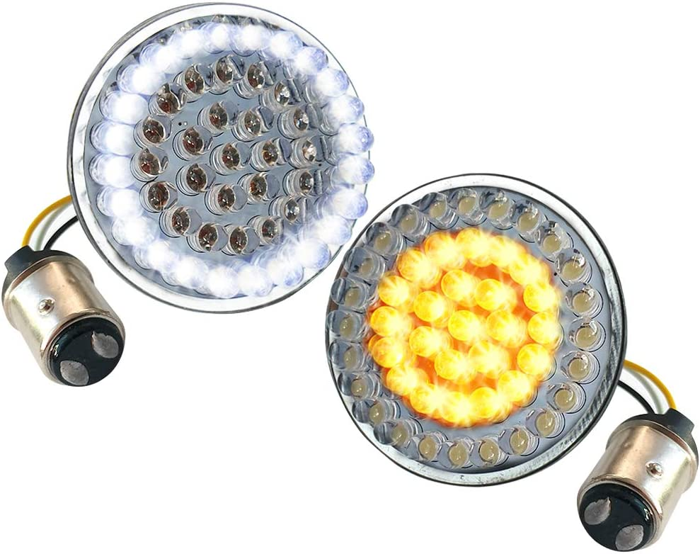 """Atubeix front Sales results No. 1 LED Turn Signals 2"""" style base mot 1157 Manufacturer direct delivery inch bulbs"""