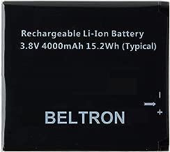 New BELTRON Replacement Battery for Novatel Jetpack MiFi 6620L Mobile Hotspot P/N: 40115131.01 (4000 mAh)